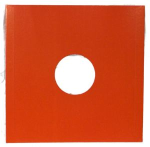 "12"" Orange Card LP Record Sleeves - Pack of 10"